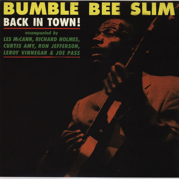 Bumble Bee Slim - Back In Town! (LP, Album, RE) - NEW
