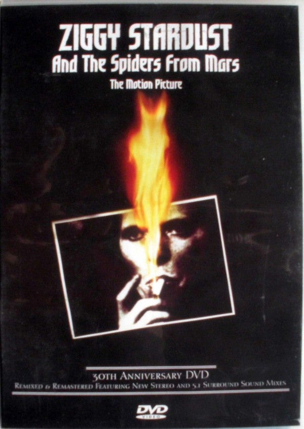 David Bowie - Ziggy Stardust - The Motion Picture (2xDVD-V, PAL, S/Edition, 30t) - USED