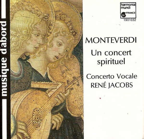 Claudio Monteverdi / Concerto Vocale - René Jacobs - Un Concert Spirituel (2xCD, Album, Ltd, RE) - USED