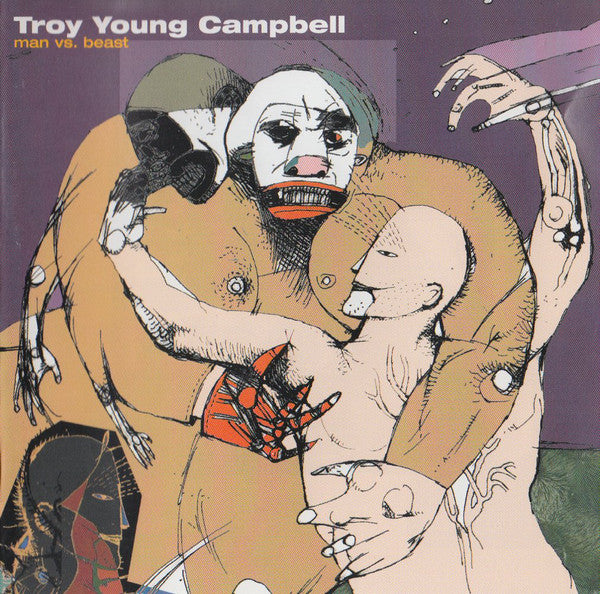 Troy Campbell - Man Vs. Beast (CD, Album) - USED