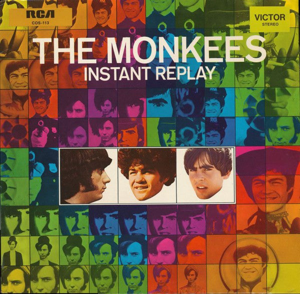 The Monkees - Instant Replay (LP, Album) - USED