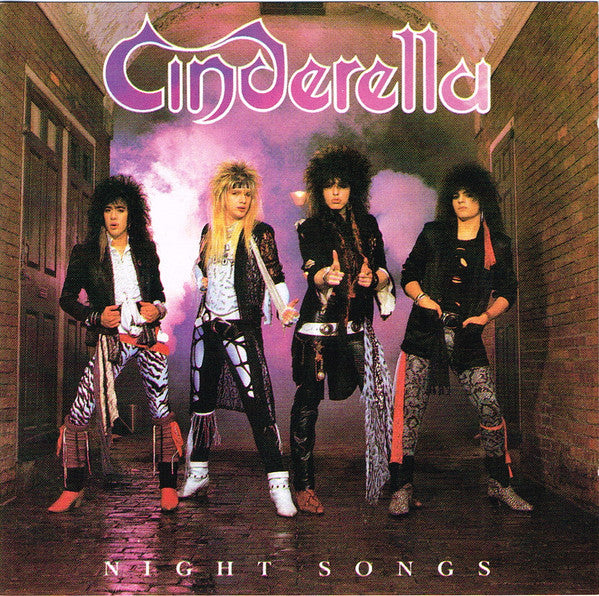 Cinderella (3) - Night Songs (CD, Album, RP) - USED