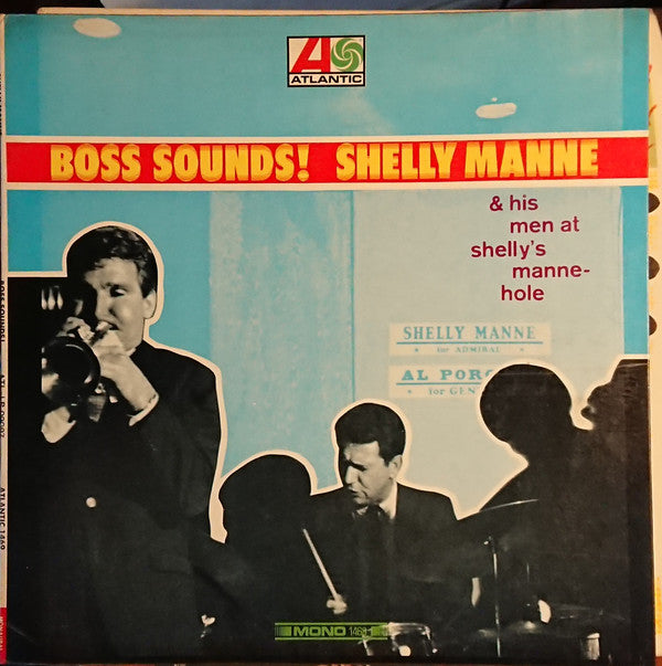 Shelly Manne - Boss Sounds! (LP, Album, Mono) - USED