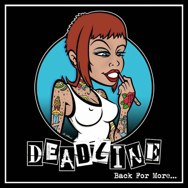 Deadline (10) - Back For More... (LP, Album, RE) - NEW