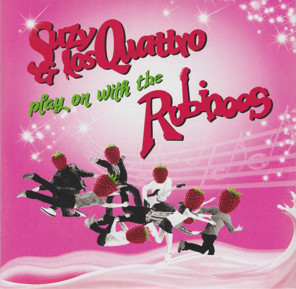 "Suzy & Los Quattro / The Rubinoos - Suzy & Los Quattro Play On With The Rubinoos (7"", Single) - NEW"