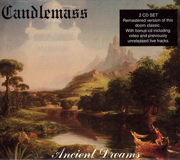 Candlemass - Ancient Dreams (CD, Album, RE, RM + CD, Enh + Sli) - NEW