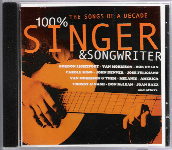 Various - 100% Singer & Songwriter (CD, Comp, Smplr) - USED
