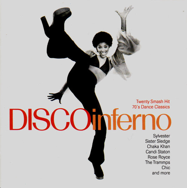 Various - Disco Inferno (CD, Comp) - USED
