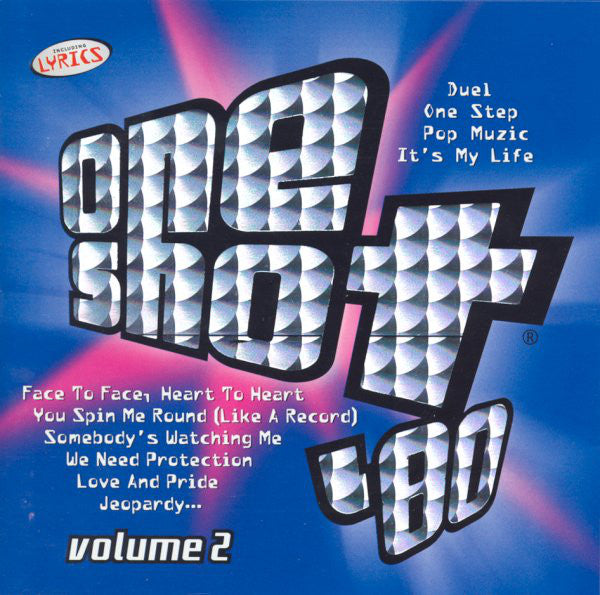 Various - One Shot '80 Volume 2 (CD, Comp) - USED