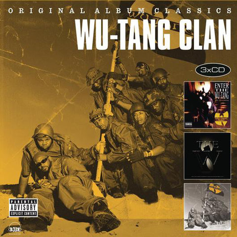 Wu-Tang Clan - Original Album Classics  (3xCD, Comp) - NEW