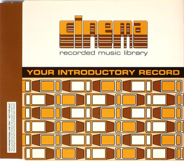 Cinema Recorded Music Library - Your Introductory Record (CD, Promo) - USED