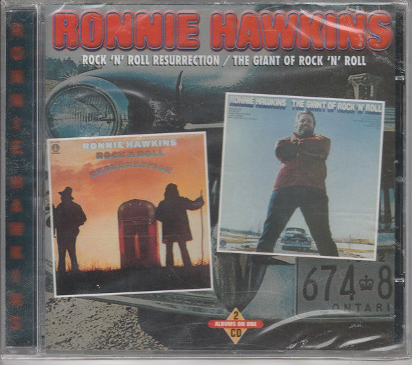 Ronnie Hawkins - Rock & Roll Resurrection / The Giant Of Rock 'N' Roll (CD, Comp) - USED