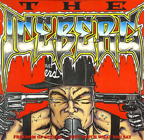 Ice-T - The Iceberg (Freedom Of Speech... Just Watch What You Say) (LP, Album) - USED