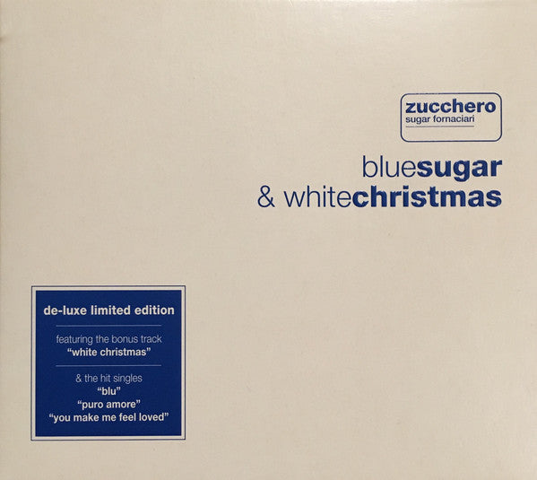 Zucchero -  Bluesugar & Whitechristmas  (CD, Album) - USED