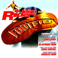 Various - Riddim' Rider Vol.12 Footstep (CD, Comp) - USED