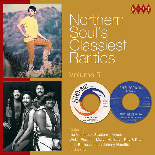 Various - Northern Soul's Classiest Rarities Volume 5 (CD, Comp) - NEW