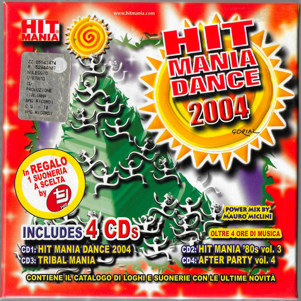 Various - Hit Mania Dance 2004 (Box + 4xCD, Comp, P/Mixed) - USED
