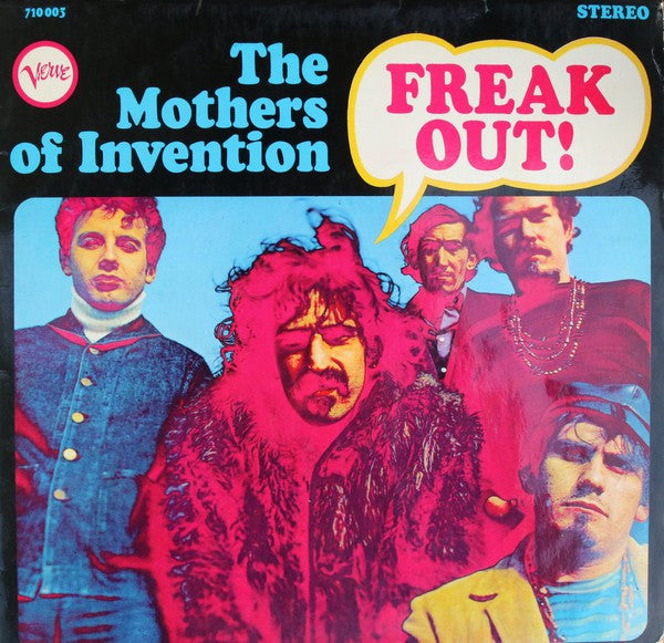 The Mothers Of Invention* - Freak Out! (LP, Album) - USED