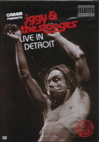 Iggy & The Stooges* - Live In Detroit (DVD-V, NTSC) - USED