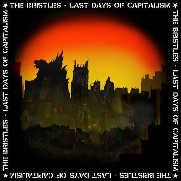 Bristles - Last Days Of Capitalism (LP, Album, red) - NEW