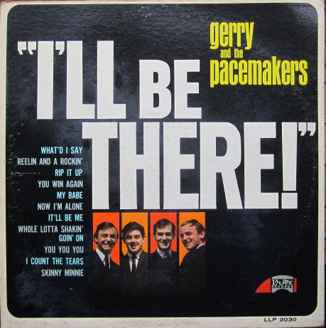 Gerry & The Pacemakers - I'll Be There (LP) - USED