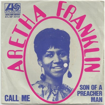 "Aretha Franklin - Call Me (7"", Single) - USED"