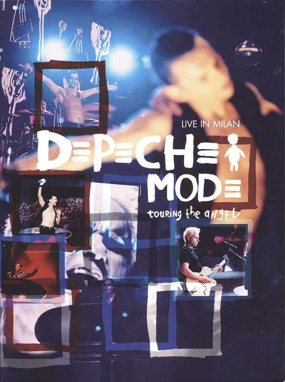 Depeche Mode - Touring The Angel: Live In Milan (2xDVD-V, Multichannel, PAL + CD) - USED