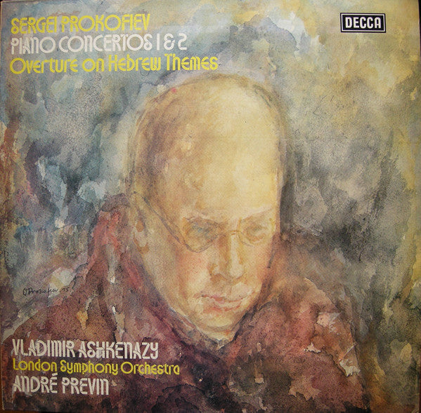 Sergei Prokofiev / Vladimir Ashkenazy / London Symphony Orchestra* / André Previn - Piano Concertos 1 & 2 · Overture On Hebrew Themes (LP, Album) - USED