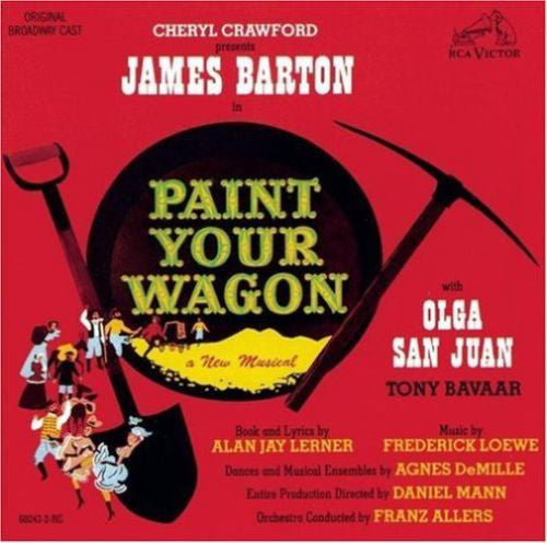 Various - Paint Your Wagon (CD, Album, RM) - USED