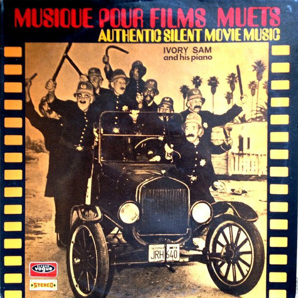 Ivory Sam - Musique Pour Films Muets (Authentic Silent Movie Music) (LP) - USED