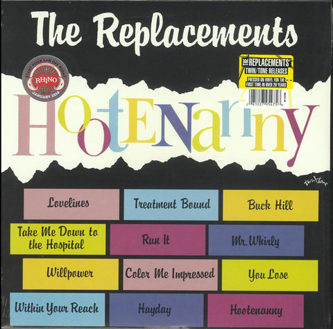 The Replacements - Hootenanny (LP, Album, RE) - NEW