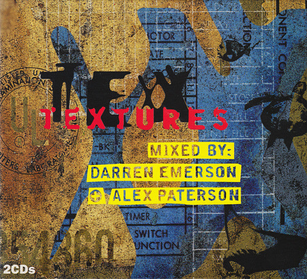 Darren Emerson + Alex Paterson - TEXtures (2xCD, Comp, Mixed + Box) - USED