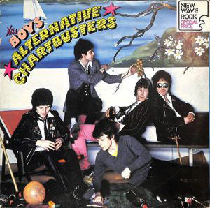The Boys (2) - Alternative Chartbusters (LP, Album, Promo) - USED