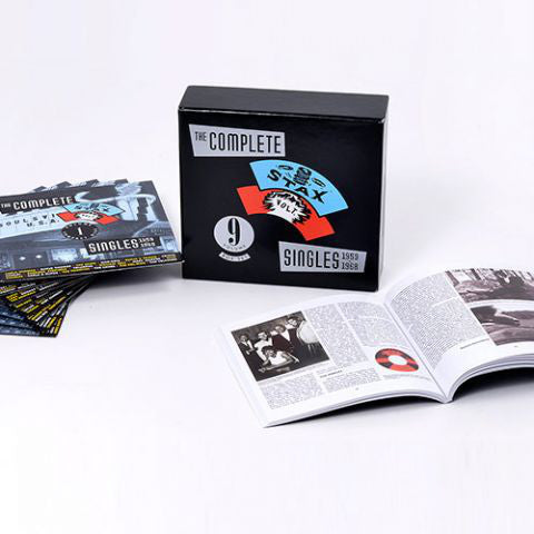 Various - The Complete Stax-Volt Singles 1959-1968 (9xCD, Comp + Box) - USED