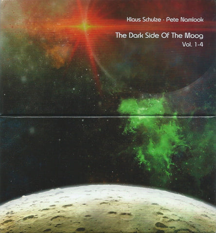 Klaus Schulze ∙ Pete Namlook - The Dark Side Of The Moog Vol. 1-4 (CD, Album, RE + CD, Album, RE + CD, Album, RE + CD) - USED
