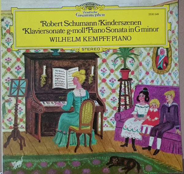 Robert Schumann, Wilhelm Kempff - Kinderszenen / Klaviersonate G Moll - Piano Sonata In G Minor (LP) - USED