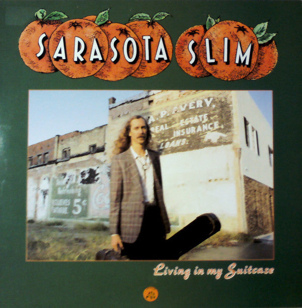 Sarasota Slim - Living In My Suitcase (LP) - USED