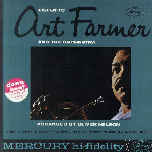 Art Farmer - Listen To Art Farmer And The Orchestra (LP, Album, Mono) - USED