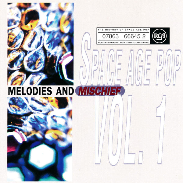 Various - Space Age Pop Vol. 1 (Melodies And Mischief) (CD, Comp) - USED