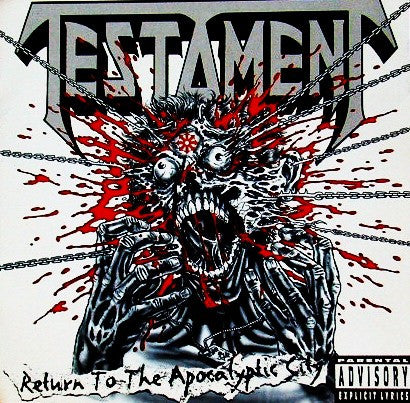 Testament (2) - Return To The Apocalyptic City (CD, EP) - USED