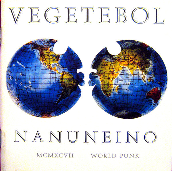 Vegetebol - Nanuneino (CD, Album) - USED