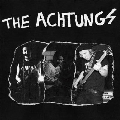 The Achtungs - Full Of Hate (LP, RE, Mag) - NEW