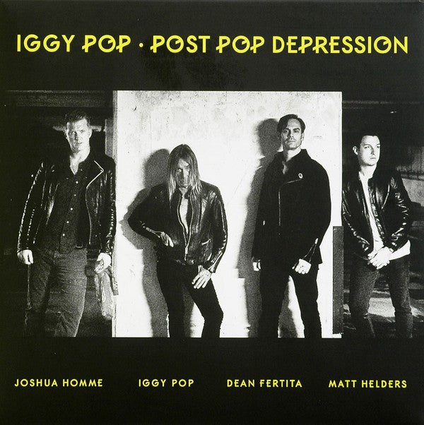 Iggy Pop - Post Pop Depression (LP, Album) - NEW