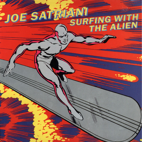 Joe Satriani - Surfing With The Alien (LP, Album) - USED