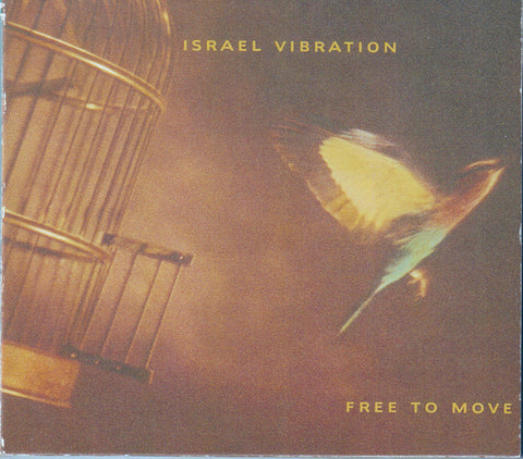Israel Vibration - Free To Move (CD, Album) - USED