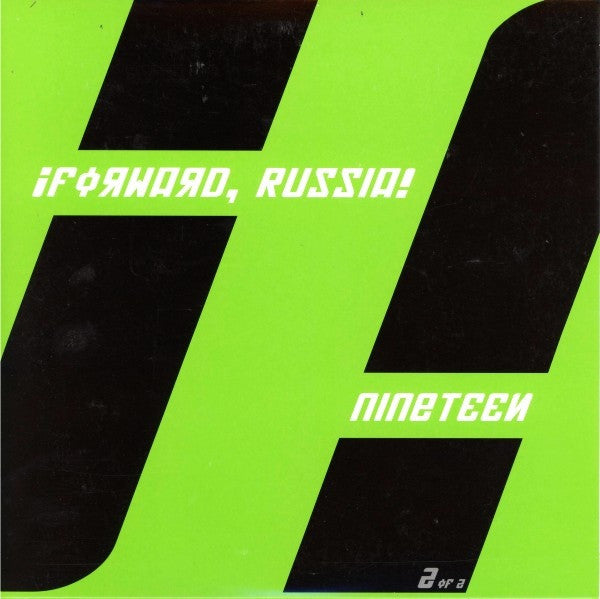 "¡Forward, Russia! - Nineteen (7"", Single, Gre) - NEW"