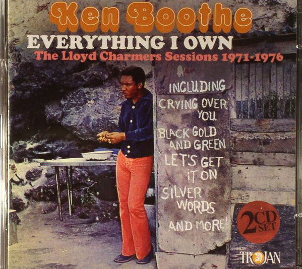 Ken Boothe - Everything I Own (The Lloyd Charmers Sessions 1971-1976) (2xCD, Comp) - NEW