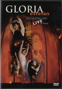 Gloria Estefan - The Evolution Tour - Live In Miami (DVD-V, D/Sided, PAL) - USED