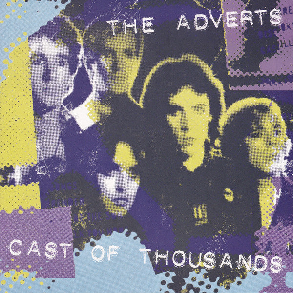 The Adverts - Cast Of Thousands (LP, Album, Ltd, RE, RM, Whi) - NEW