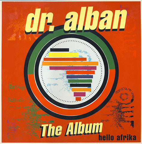 Dr. Alban - Hello Afrika (The Album) (LP, Album) - USED